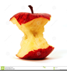 Apple Bite Clipart Image