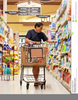 Grocery Shopping Free Clipart Image