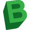 Letter B Icon Image