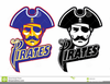 Pirates Baseball Clipart Image