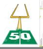 Free Football Goal Post Clipart Image