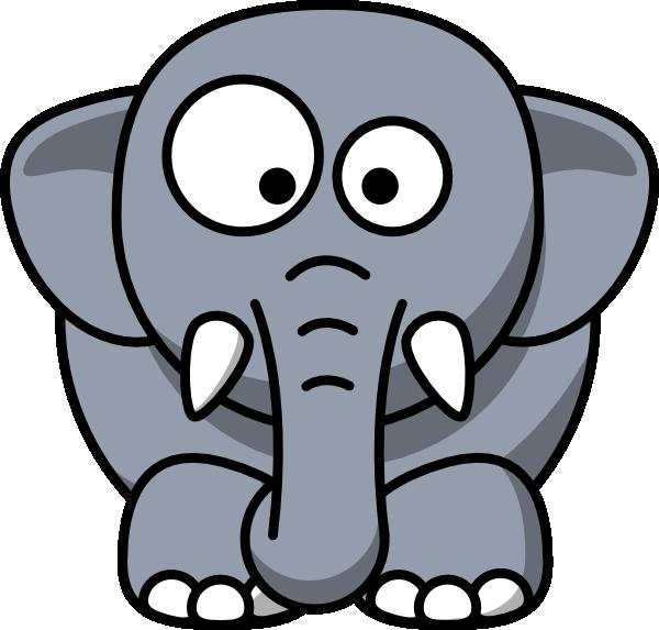 baby elephant clip art at clker com vector clip art online rh clker com baby elephant clip art black and white baby elephant clip art black and white