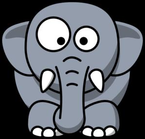 Baby Elephant Clip Art At Clker Com Vector Clip Art Online