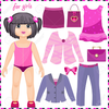 Clothes Clipart Black And White Image