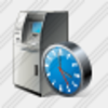 Icon Cash Dispense Clock Image