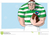 Rugby Player Ball Image