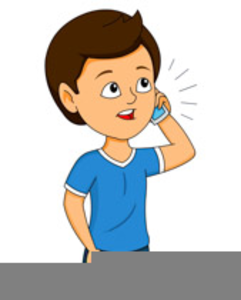 Free Animated Cell Phone Clipart Image