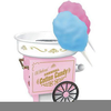 Free Cotton Candy Clipart Image