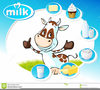 Dairy Cow Clipart Image