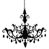 Resize Chandelier Decal Md Image