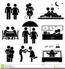 Boyfriend And Girlfriend Clipart Image