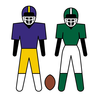 Football Field Clipart Image