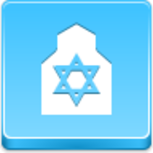 Free Blue Button Icons Synagogue Image