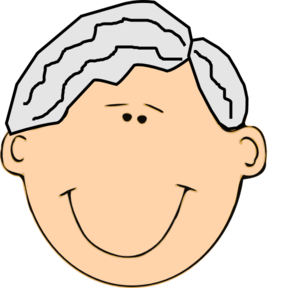 Grandfather Smiling Clip Art at Clker.com - vector clip ...