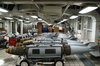 Joint Direct Attack Munitions (jdam) Sit On The Mess Decks In Temporary Storage Prior To Being Moved To The Flight Deck To Be Loaded Onto Awaiting Air Wing Aircraft. Image