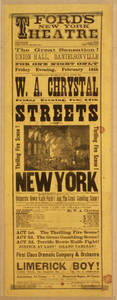 Streets Of New York Thrilling Fire Scene. Image