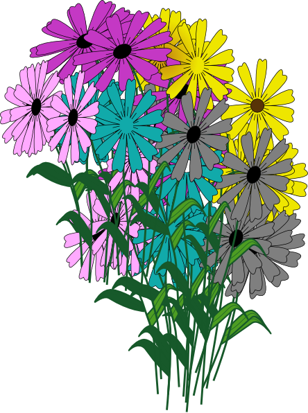 Hope Flowers Blooms Clip Art At Clker Com Vector Clip
