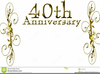 Happy Th Anniversary Free Clipart Image
