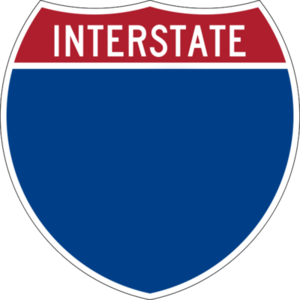 Interstate Sign Psd Image