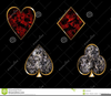 Playing Cards Symbols Clipart Image