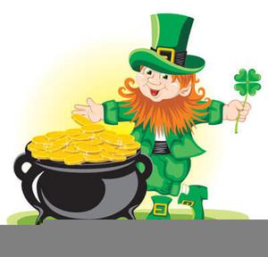 shamrocks leprechauns clipart free images at clker com vector rh clker com Free Clip Art Pot of Gold dancing leprechaun clipart free