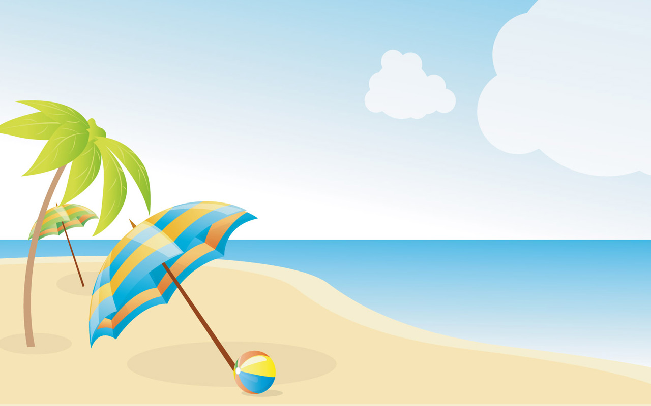 clipart beach scenes - photo #12