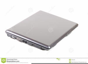 Closed Laptop Clipart Image
