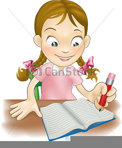 free clipart of child writing free images at clker com vector rh clker com child writing name clipart child writing clipart black and white
