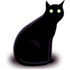 Black Cat 256x256 Image