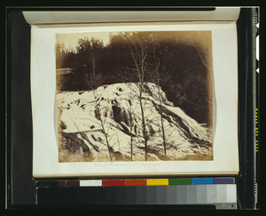 Falls On The Colville (mill River), 1860 Image