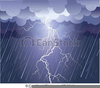 Clouds And Rain Clipart Image