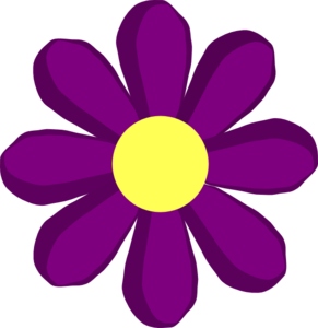 Purple spring flower clip art at clker vector clip art online purple spring flower clip art mightylinksfo