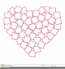 Heart Template Clipart Image