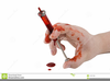Bloody Needle Clipart Image