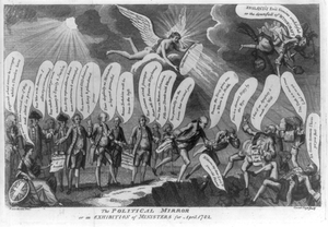 The Political Mirror Or An Exhibition Of Ministers For April 1782  / Razo Rezio Inv ; Crunk Fogo Sculp. Image