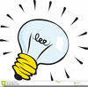 Free Cartoon Light Bulb Clipart Image