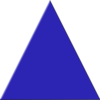 Blue Triangle Image