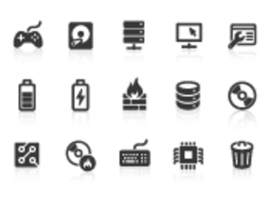 0017 Computer Network Icons Xs Image