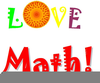 Math Icons Clipart Image