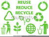 Free Clipart Recycle Logo Image