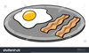 Clipart Eggs And Bacon Image