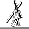 Free Clipart Of Jesus Carrying The Cross Image