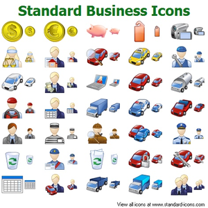 Standard Business Icons Image