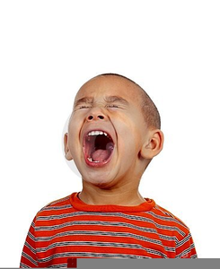 Free Clipart Screaming Child Image