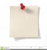 Note Pad Clipart Image