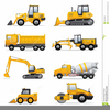 Free Heavy Equipment Clipart Image