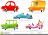 Shiny Car And Clipart Image
