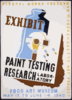 Exhibit Paint Testing And Research Laboratory : Fogg Art Museum. Clip Art