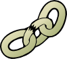 Broken Chain Clip Art