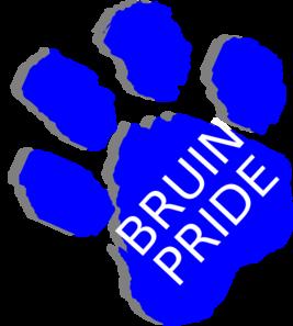 Bruin Pride Clip Art at Clker.com - vector clip art online ...